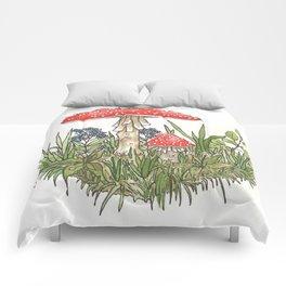 mushroom guys Comforters