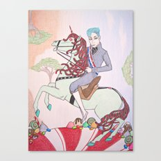 Mint King Canvas Print