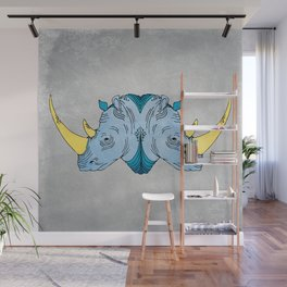 Double Trouble - Rhino Wall Mural