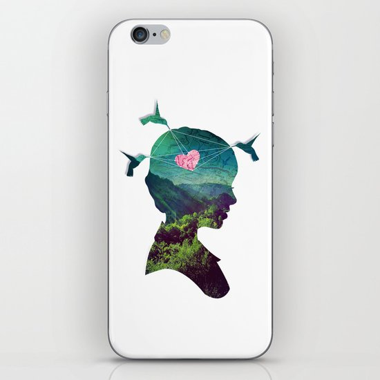 Voyage iPhone & iPod Skin