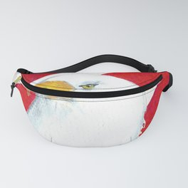 Eagle And Flag Fanny Pack