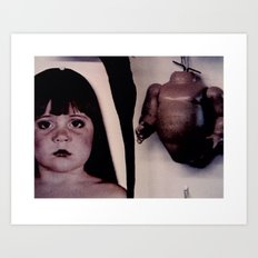Innocence Torn Asunder Art Print
