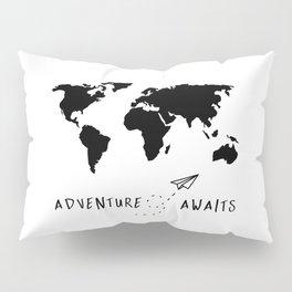 Adventure Map II Pillow Sham