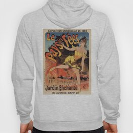 Land of the fairies Paris World Expo 1889 Hoody