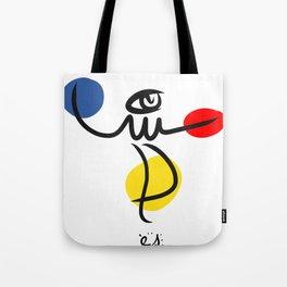 The Juggler of Life Minimal Art Design Tote Bag