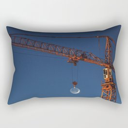 Lifting the Moon Rectangular Pillow