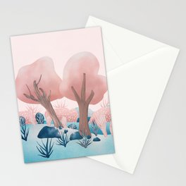 Winter landscapes 1 Stationery Cards
