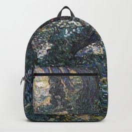Vincent Van Gogh Undergrowth Backpack
