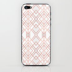 Geo Rose Gold iPhone & iPod Skin
