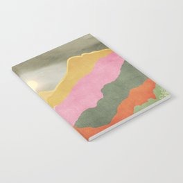 Colorful mountains Notebook