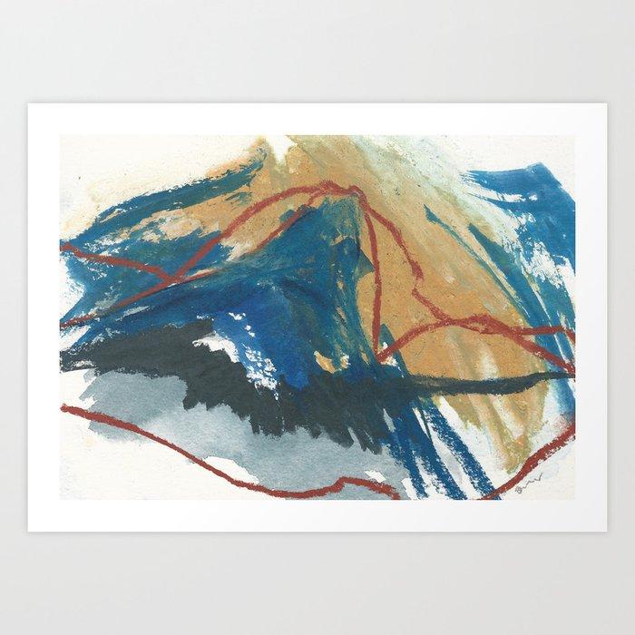 no more earthquakes Kunstdrucke