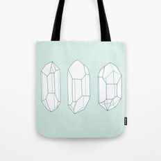Three Lucky Crystals Tote Bag