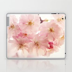 cherry blossoms- In memory Laptop & iPad Skin