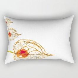 Thanksgiving Physalis Abstract Happy Autumn Season Rectangular Pillow