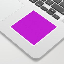 Electric Violet Sticker
