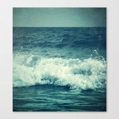 The Sea II. (Sea Monster) Canvas Print