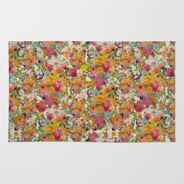 FLORAL // LIFE OF FLOWERS Rug