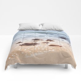 By the Shore - Landscape and Nature Photography Comforters