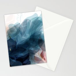 foliage colorful nordic style Stationery Cards