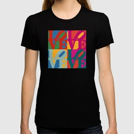 Love Pop Art T-shirt