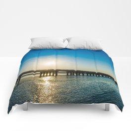 Chincoteague Island Bridge Comforters
