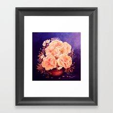 Peonies  painting Framed Art Print