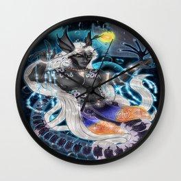 Alien Seabeast Wall Clock