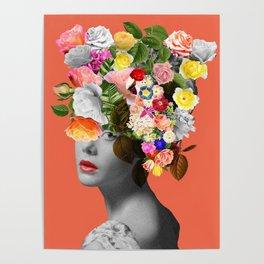 Orange Lady Poster