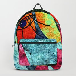 The laughing horse Backpack