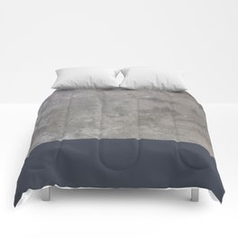 Dipped Concrete Print Comforters