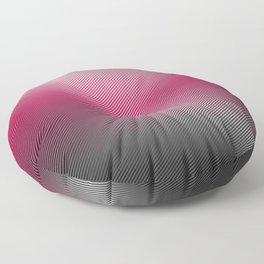 Metallic Hot pink Sheen Floor Pillow