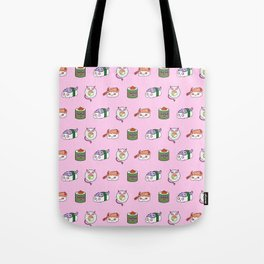 SUSHI PATTERN Tote Bag