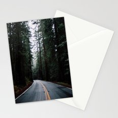Road to adventure Stationery Cards