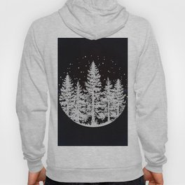 Trees in a Winter Forest Hoody