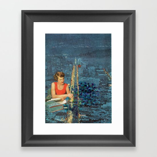Painting our City Framed Art Print