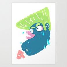 Chicken Farts Art Print