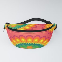 Decorative Abstract Pattern Fanny Pack