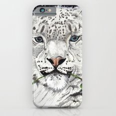 Snow Leopard iPhone 6s Slim Case