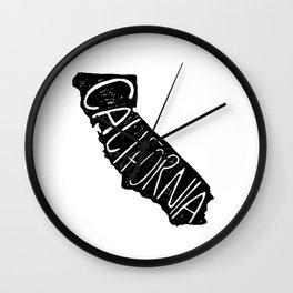 California state w/b Wall Clock