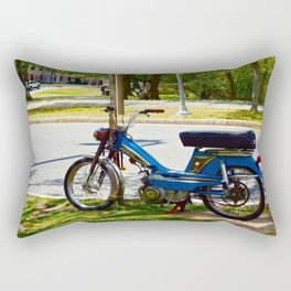 Bicycle Blue in the Green  Rectangular Pillow
