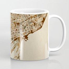 Toronto Street Map Coffee Mug
