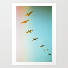 Updraft Art Print