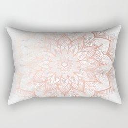 Imagination Rose Gold Rectangular Pillow