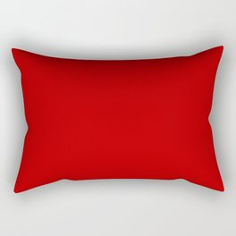 UE red - solid color Rectangular Pillow