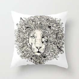The King's Awakening Throw Pillow