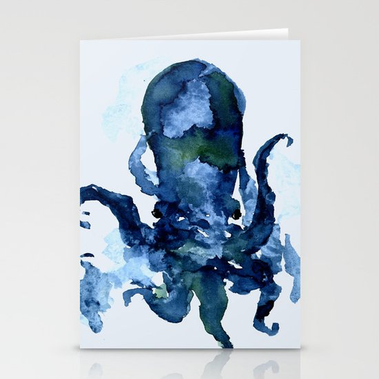 Oceanic Octo Stationery Cards