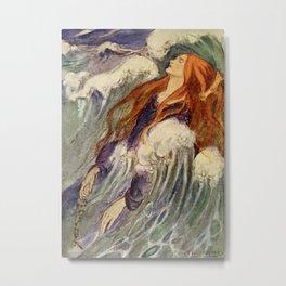 """Dreamland"" Fairy Art by Florence Harrrion Metal Print"