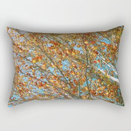 Leaves at Matilda Bay Rectangular Pillow