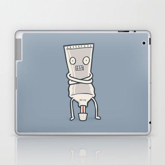 Bad Taste Toothpaste  Laptop & iPad Skin
