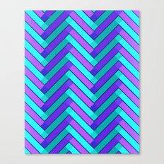 Holly Go Chevron Canvas Print